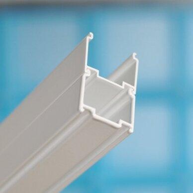 Komplektas: dušo kabina Ravak SKCP4 80, 90 cm su padėklu ir sifonu 5
