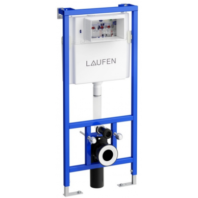 Komplektas: Laufen unitazas Pro New, potinkinis rėmas LIS CW1 4