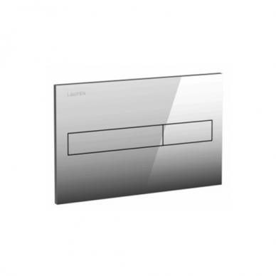 Komplektas: Ravak Uni Chrome RimOff klozetas su Laufen rėmu 3