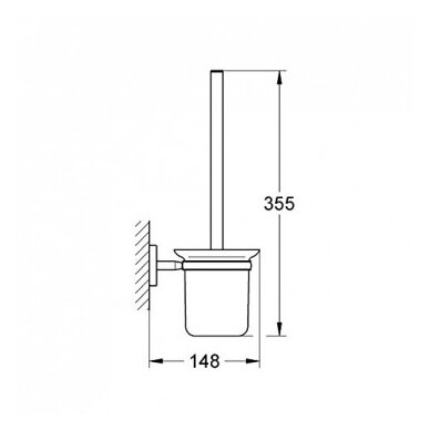 Potinkinis WC komplektas Grohe Rapid SL 6in1 10