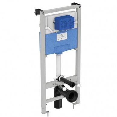 Komplektas: WC rėmas Ideal Standard Prosys 120 M su klavišu, klozetas su dangčiu 2