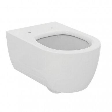 Komplektas: WC rėmas Ideal Standard Prosys 120 M su klavišu, klozetas su dangčiu 4