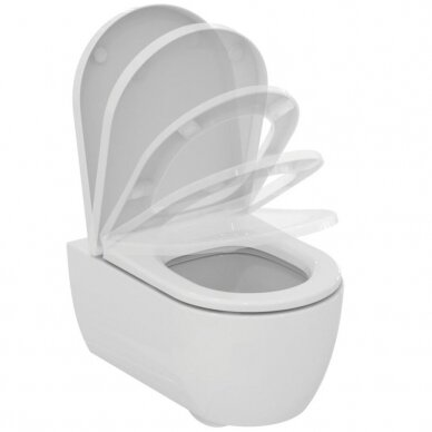 Komplektas: WC rėmas Ideal Standard Prosys 120 M su klavišu, klozetas su dangčiu 5