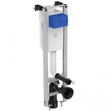 Komplektas: WC rėmas Ideal Standard Prosys Eco su klavišu, unitazas su dangčiu 2