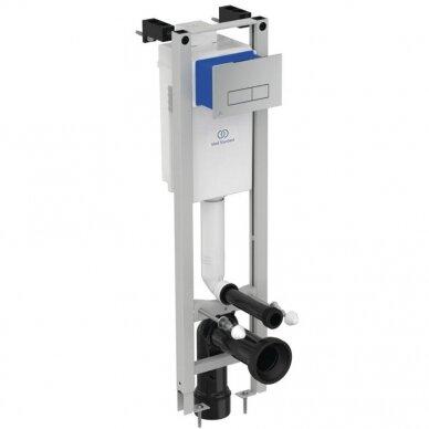 Komplektas: WC rėmas Ideal Standard Prosys Eco su klavišu, unitazas su dangčiu 3