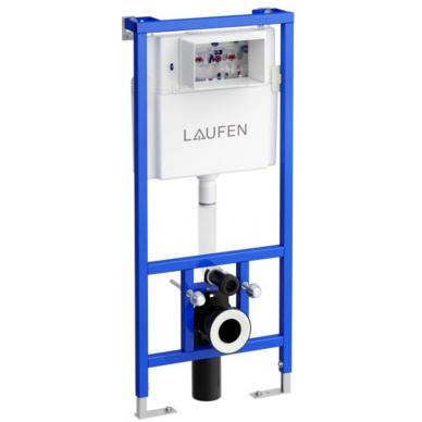 Klozeto rėmas Laufen LIS ir LIS Dual Flush mygtukas 2