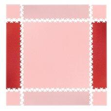 Kraštinės dalys sudedamai dangai inSPORTline Simple Red – 2 vnt.
