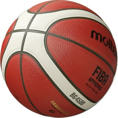 Krepšinio kamuolys MOLTEN B6G4500X 3