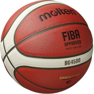 Krepšinio kamuolys MOLTEN B6G4500X 4