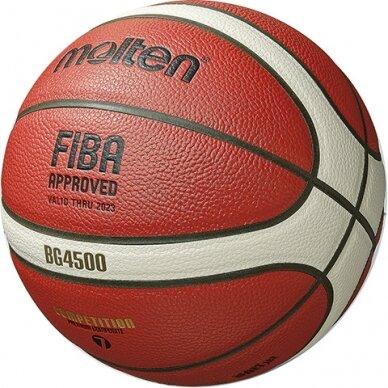 Krepšinio kamuolys MOLTEN B6G4500X 6