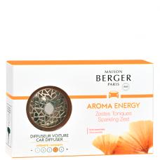 Kvapas automobiliui Maison Berger Aroma Energy