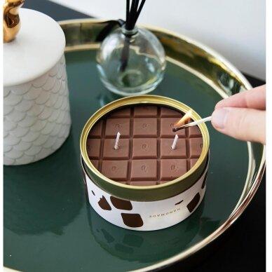 Kvapioji žvakė CandleCan Šokolado plytelė 4