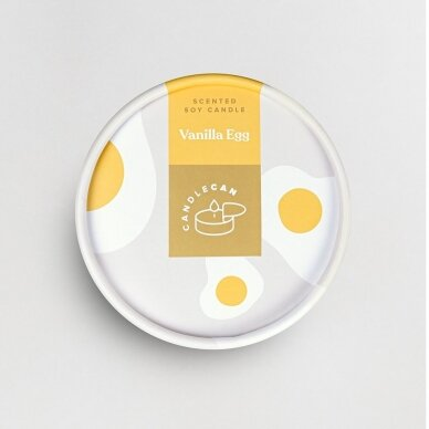Kvapioji žvakė Candlecan Vanilinis kiaušinis 3