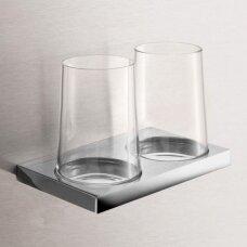 Laikiklis su stikline Keuco Edition 11 dvigubas