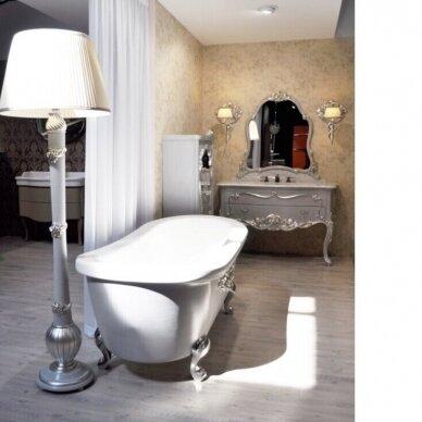 Laisvai pastatoma medinė vonia Flora Style Opera 3