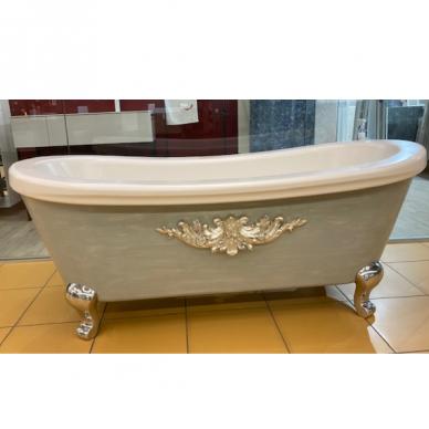 Laisvai pastatoma medinė vonia Flora Style Opera