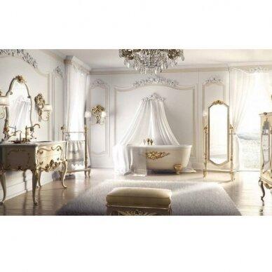 Laisvai pastatoma medinė vonia Flora Style Opera 2