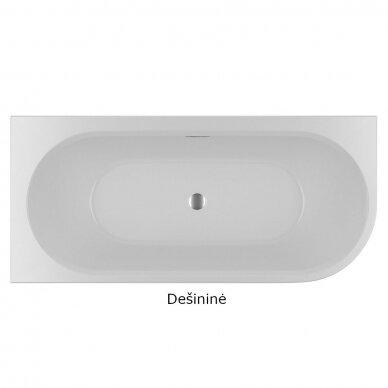 Laisvai pastatoma vonia Riho Desire 180 cm 2