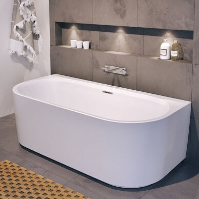 Laisvai pastatoma vonia Riho Desire Back2wall 180 cm 2