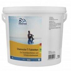 Lėtai tirpstančios 20g chloro tabletės Chemoform Chemoclor T , 5kg