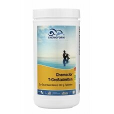 Lėtai tirpstančios chloro tabletės Chemoform AG po 20 g, 1 kg