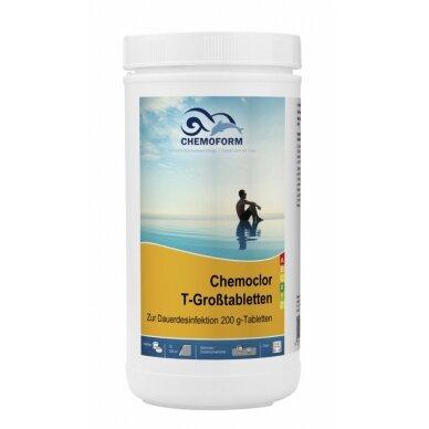 Lėtai tirpstančios chloro tabletės Chemoform AG po 200 g, 1 kg