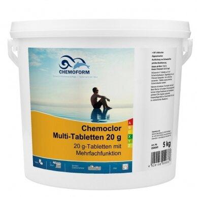 Lėto tirpimo multitabletės Chemoform AG po 200g, 5 kg