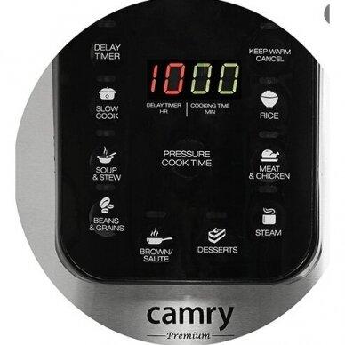 Lėto virimo puodas Camry CR 6409 5