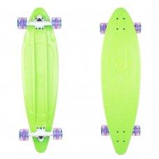 """Longboardas Worker Pike 36"""", plastikas, ABEC 11 - Green"""