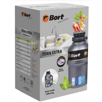 Maisto atliekų smulkintuvas Bort TITAN EXTRA 7