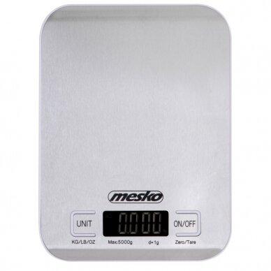 Maisto svarstyklės Mesko MS-3169(balta) 3