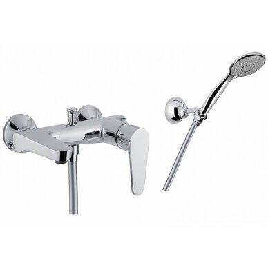 Maišytuvas voniai/dušui Fiore Kera, chromas
