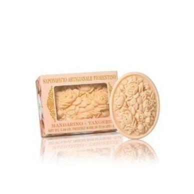Mandarinų aromato muilas Saponificio Artigianale Fiorentino 125 g