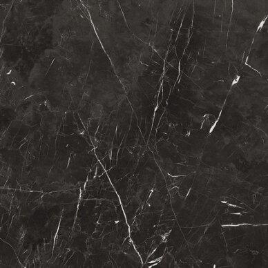 Akmens masės plytelės MARQUINIA NERO LAPPATO 60x60 ret.