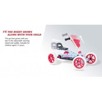 Mašinėlė vaikams 2-5m. Berg Buzzy BSX (iki 30kg/120cm) 9