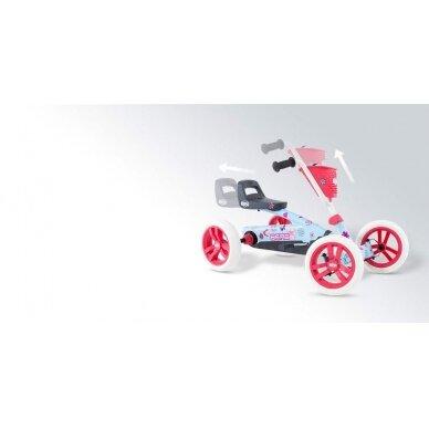 Mašinėlė vaikams BERG Go-kart Buzzy Bloom 2-in-1 6