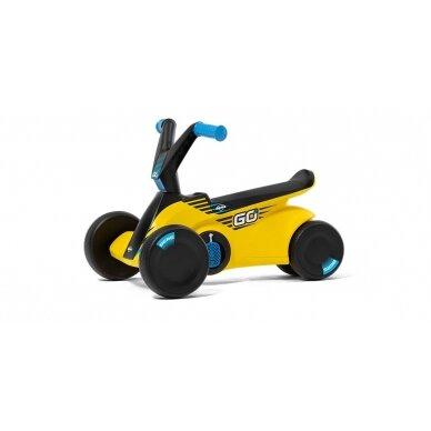 Mašinėlė vaikams BERG GO² SparX Yellow 2