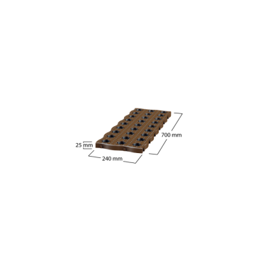 MaXi sodo plytelės (pakuotėje 4 vnt.) 6