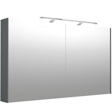 Veidrodinė spintelė Kamė su Garda D-Line LED šviestuvu ir dugno apšvietimu 4