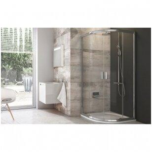 Mitai apie stiklines dušo kabinas ir duris