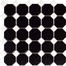 Mozaika Malla Octogon Black Matt