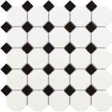 Mozaika Malla Octogon White Matt