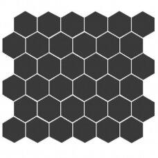 Mozaika Rock Art Hexagono negro