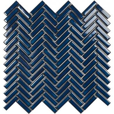 Mozaika Malla Chevron Blue