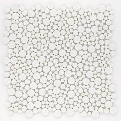Mozaika Rock Art Bubbles Blanco