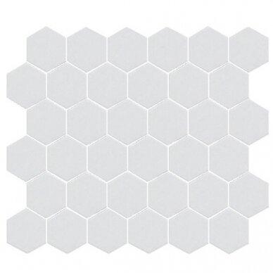 Mozaika Rock Art Hexagono Blanco