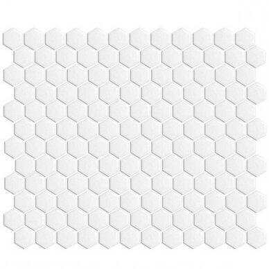 Mozaika Rock Art Hexagono Mini Blanco