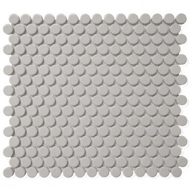 Mozaika Rock Art Penny Round Gris
