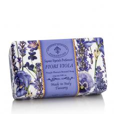 Muilas Saponificio Artigianale Fiorentino violetinių gėlių kvapo 250 g