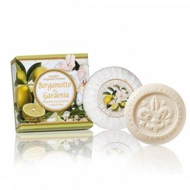Muilas Saponificio Artigianale Fiorentino bergamotės ir gardenijos kvapo 100 g